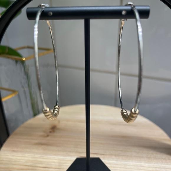 Bp Hoop earrings